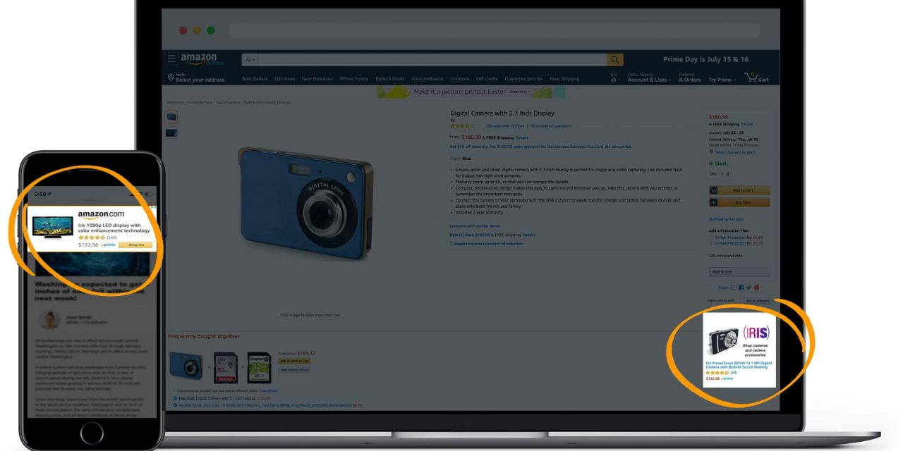 Amazon Sponsored Display Ads; (re)target jouw Amazon klanten